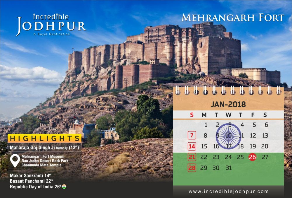 Jodhpur Tourism Calander 2018