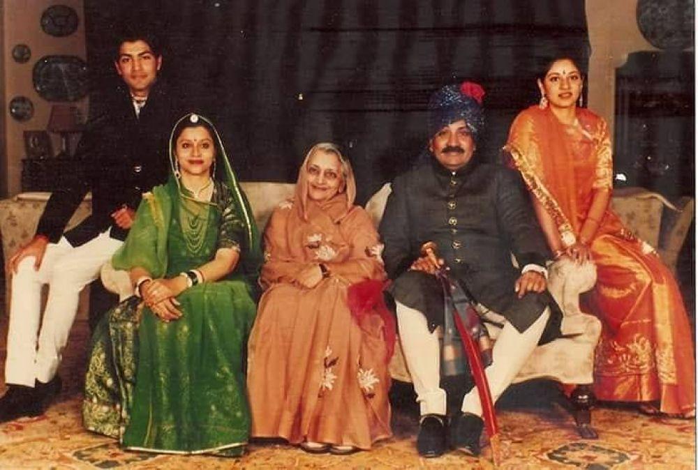 HH Maharaja Gaj Singh Ji